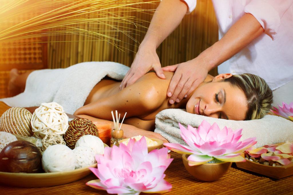 Фото красивого массажа