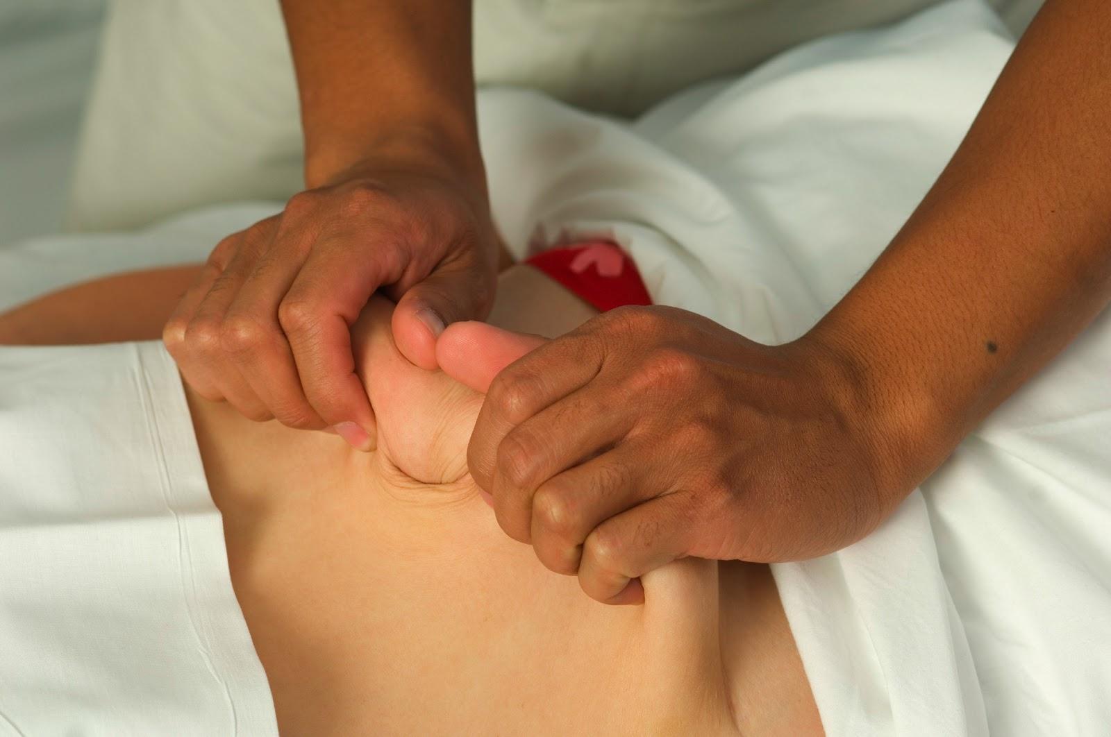 Оттягивания в массаже